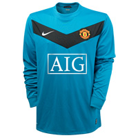 09-10 Man Utd GK away shirt
