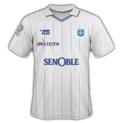 09-10 Auxerre home shirt