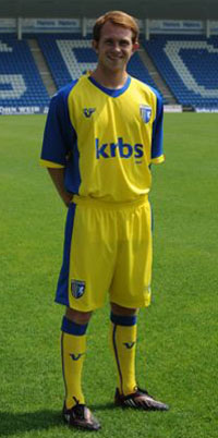 09-10 Gillingham Away Shirt