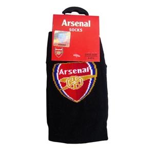 Arsenal FC Crest Socks Black Size 6-12
