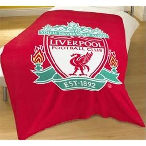 Liverpool FC Fleece Blanket