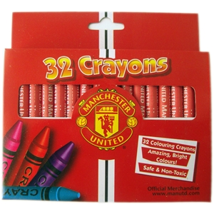 Manchester United FC Crayons