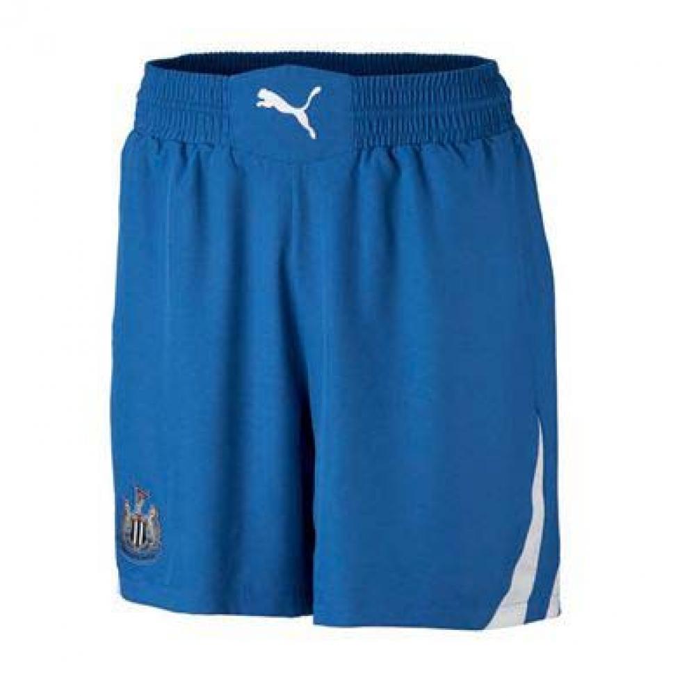 2010-11 Newcastle Puma Away Shorts (Blue)