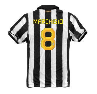 2010-11 Juventus Nike Home (Marchisio 8)