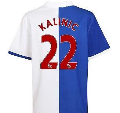 2010-11 Blackburn Rovers Home Shirt (Kalinic 22)