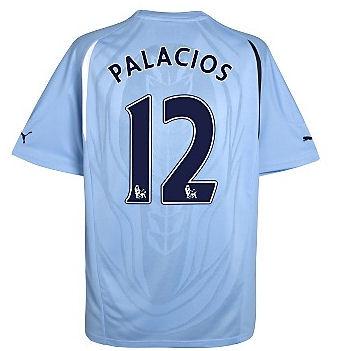 2010-11 Tottenham Puma Away Shirt (Palacios 12)