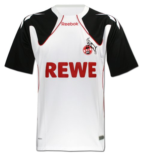 2010-11 FC Koln Reebok Away Football Shirt