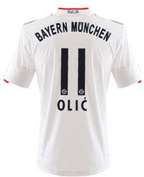 2011-12 Bayern Munich Away Shirt (Olic 11)