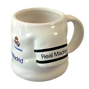 Real Madrid FC Sculptured Shirt Mug