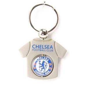 Chelsea FC T-Shirt Spinner Key Ring