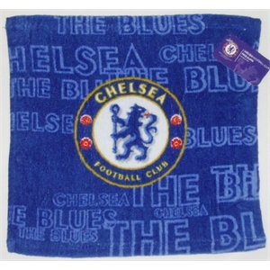 Chelsea FC Face Cloth (12 In A Pack)