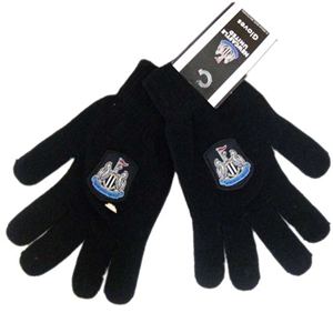 Newcastle United FC Knitted Gloves Adult