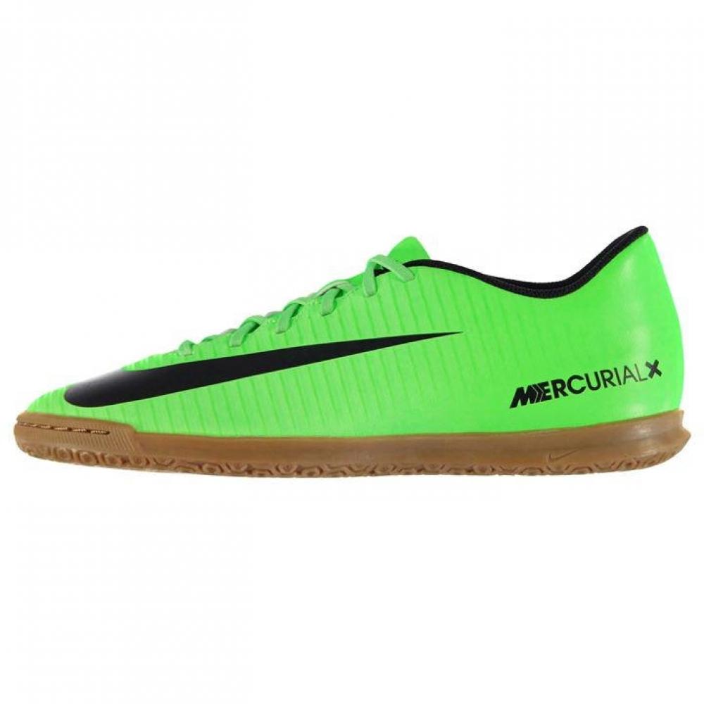 Nike Mercurial Vortex Mens Indoor Court Trainers Green