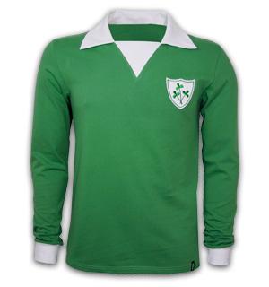 Ireland 1970's Long Sleeve Retro Shirt 100% cotton