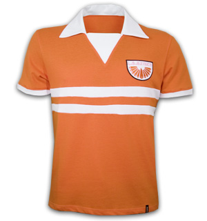 Los Angeles Aztecs 1976 Short Sleeve Retro Shirt 100% cotton