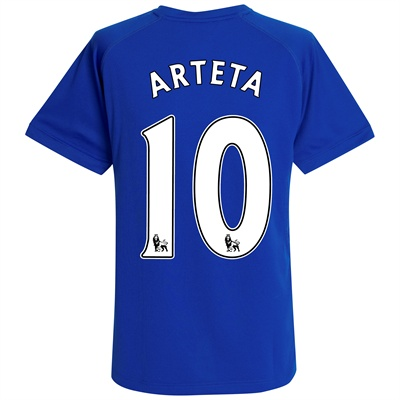 2010-11 Everton Home Shirt (Arteta 10)