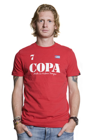COPA Hasta la Victoria Siempre T-Shirt // Red 100% cotton