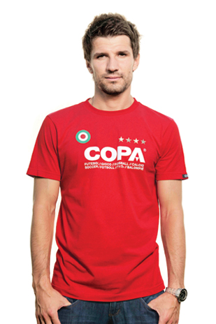COPA T-Shirt // Red 100% cotton