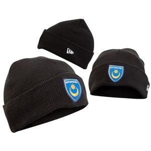 Portsmouth FC Bronx Hat (56cm) - Black