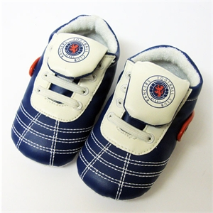 Rangers FC Baby Strap Shoes (6-9 Months)