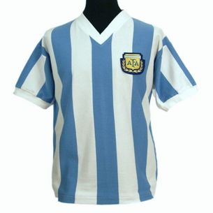 Argentina 1982 World Cup Shirt