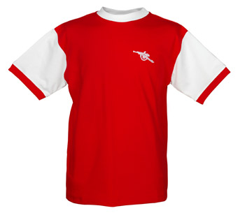 Arsenal 1960s-70s Short Sleeve Childrens