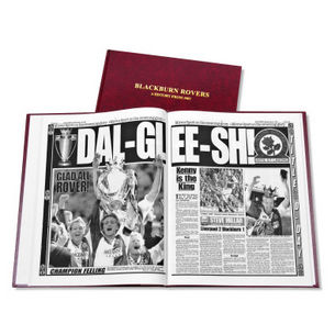 Blackburn Rovers Football Newspaper Book