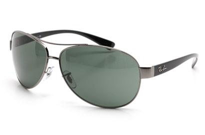 Ray-Ban 3386 Gunmetal Sunglasses