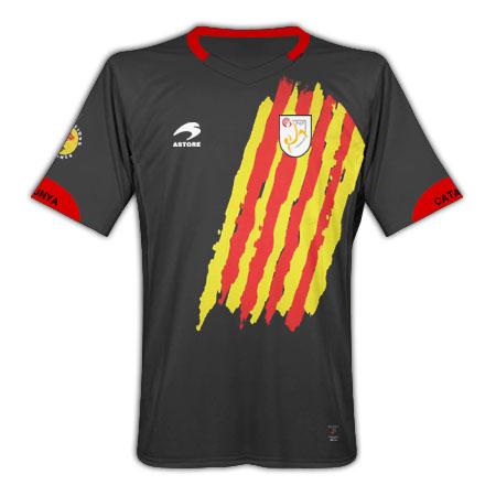 2011-12 Catalunya Home Football Shirt