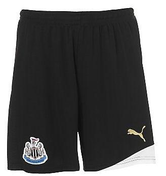 2011-12 Newcastle Home Puma Shorts (Kids)