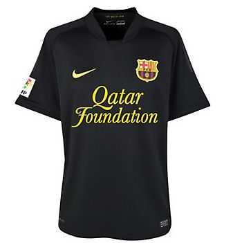 2011-12 Barcelona Away Nike Football Shirt (Kids)
