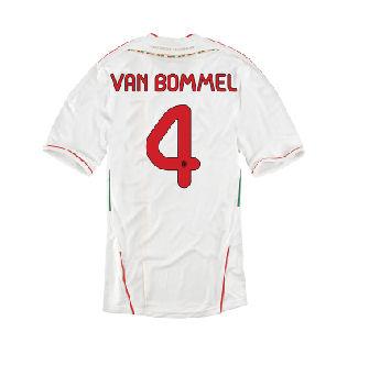 2011-12 AC Milan Away Shirt (Van Bommel 4)