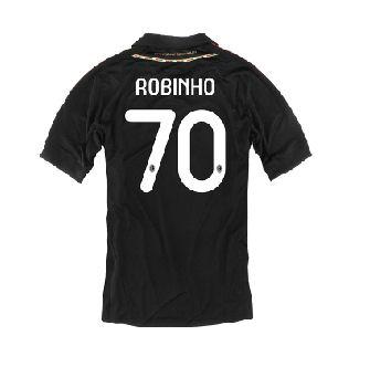 2011-12 AC Milan Third Shirt (Robinho 70)