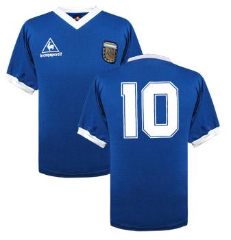 Argentina 1986 WC away shirt
