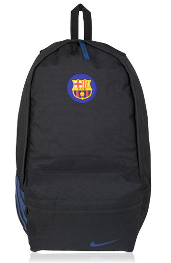 2011-12 Barcelona Nike Back Pack (Black)