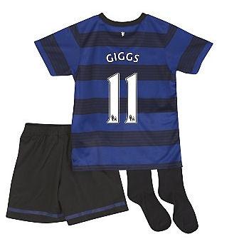 2011-12 Man Utd Nike Little Boys Away (Giggs 11)