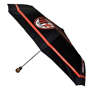 AC Milan Automatic Umbrella - Black