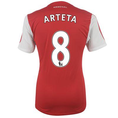 2011-12 Arsenal Nike Home Shirt (Arteta 8)