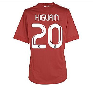 2011-12 Real Madrid 3rd Shirt (Higuain 20)