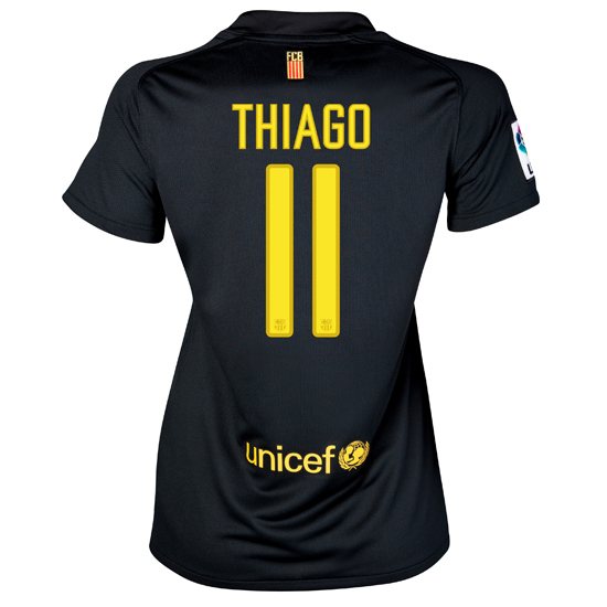 2011-12 Barcelona Nike Womens Away Shirt (Thiago 11)