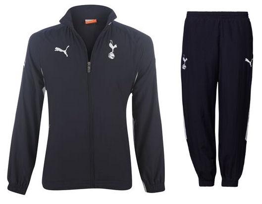 2011-12 Tottenham Puma Woven Tracksuit (Navy) - Kids