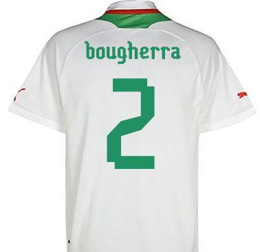 2012-13 Algeria Home Shirt (Bougherra 2)