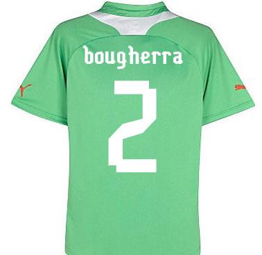 2012-13 Algeria Away Shirt (Bougherra 2)