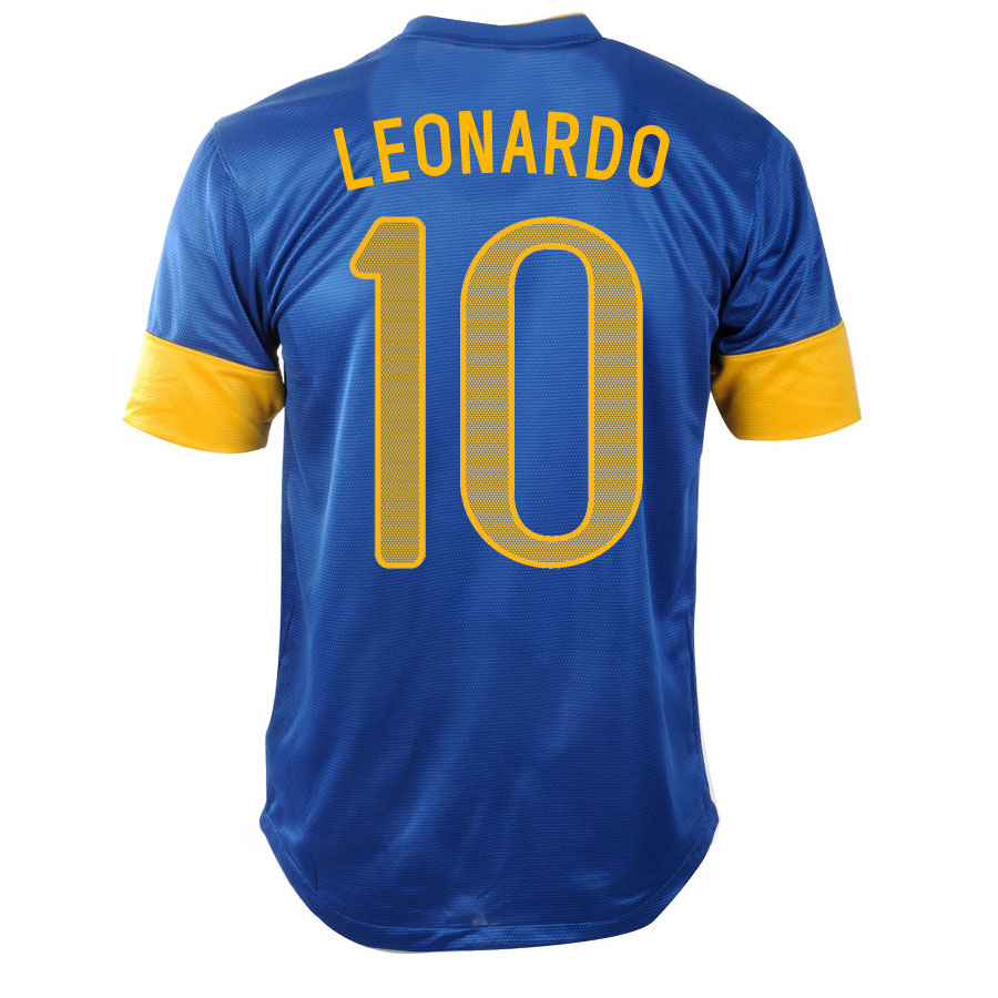 2012-13 Brazil Nike Away Shirt (Leonardo 10)