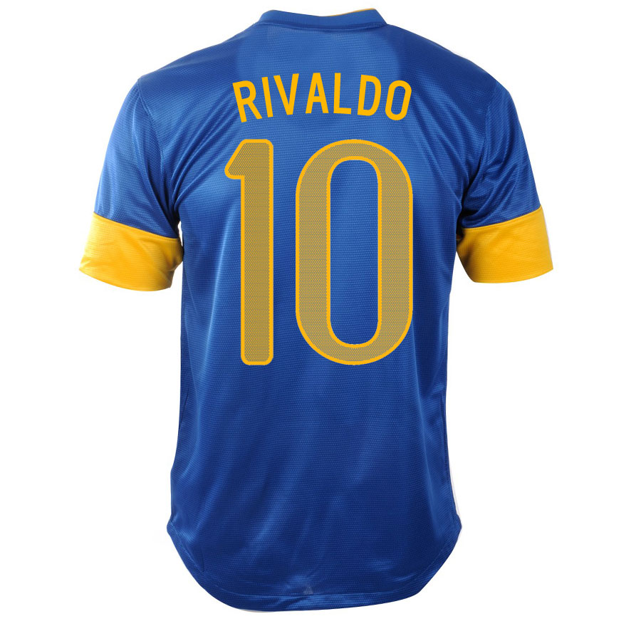 2012-13 Brazil Nike Away Shirt (Rivaldo 10) - Kids