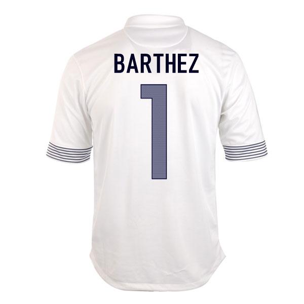 2012-13 France Euro 2012 Away (Barthez 1)