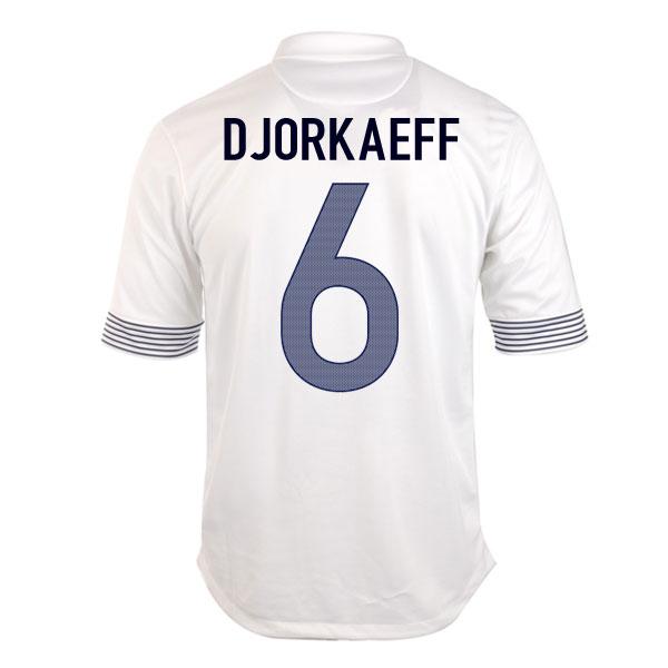 2012-13 France Euro 2012 Away (Djorkaeff 6) - Kids