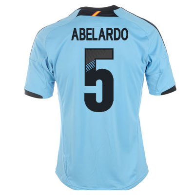 2012-13 Spain Euro 2012 Away (Abelardo 5)