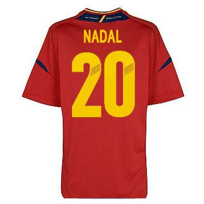 2012-13 Spain Euro 2012 Home Shirt (Nadal 20) - Kids