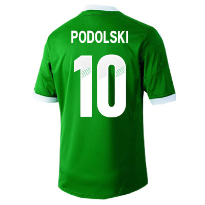 2012-13 Germany Euro 2012 Away (Podolski 10) - Kids